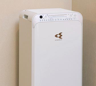 Air purifier with built-in humidifier